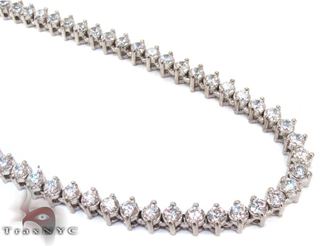 Arctic Iced Chain 32 Inches 4mm 48.5 Grams Diamond