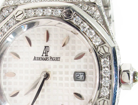 Audemars Piguet Full Diamond Prestige Sports Collection Royal Oak Watch Audemars Piguet Watches