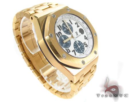 Audemars Piguet Royal Oak Offshore 18K Yellow Gold Watch Audemars Piguet Watches
