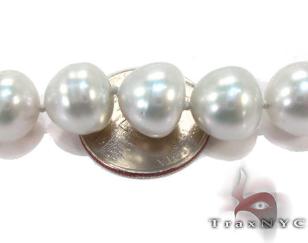 Sea Salt White Pearl Ladies Necklace 27155 Pearl