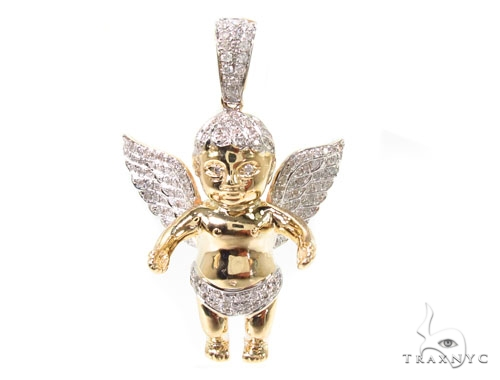 Baby Angel Pendant 36623 Metal