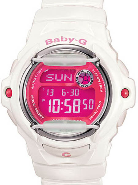 Baby-G Whale Series Ladies Watch BG169R-7DC Baby-G