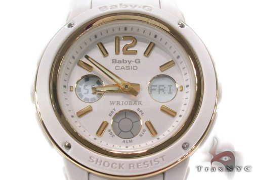 Baby-G White Ladies Watch BGA151-7B Baby-G