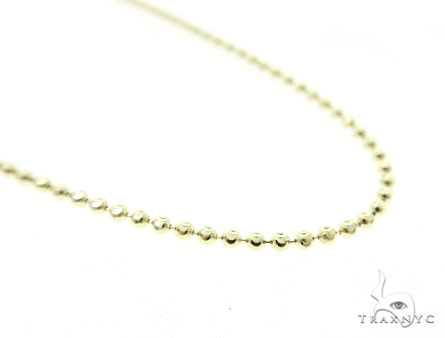 Moon Cut 10k YellowGold n 24 Inches 2mm 6.50 Grams 49602 Gold