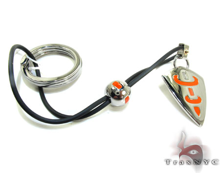 Baraka BK-UP Stainless Steel Key Chain PO50121 Metal