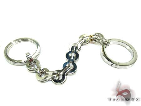 Baraka BK-UP Stainless Steel Key Chain PO50125 Metal