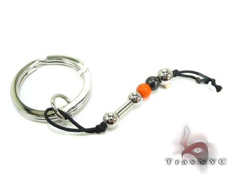 Baraka BK-UP Stainless Steel Key Chain PO50127 Metal