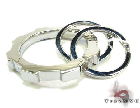 Baraka BK-UP Stainless Steel Key Chain PO50113 Metal