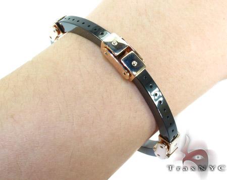 Baraka Rose Gold with High Tech Ceramic Diamond Bracelet BR21367 Diamond