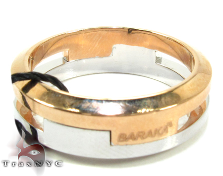 Baraka Two Tone Gold Diamond Ring AN29532 Style