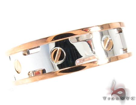Baraka Two Tone Gold Ring AN21302 Style
