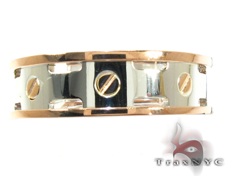 Baraka Two Tone Gold Ring AN21302 Style