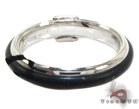 Baraka White Gold with Natural Rubber Ring AN20035 Metal