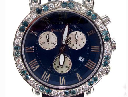 Benny&Co Blue Diamond Watch Benny & Co