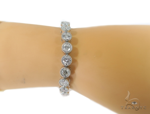 Bezel Diamond Bracelet 48986 Diamond