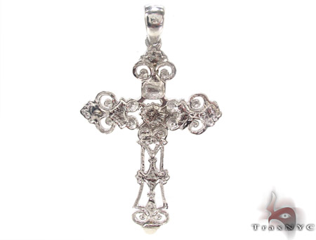 Bezel Diamond Cross 33837 Diamond