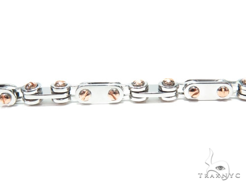 Bezel Diamond Gold Bracelet 41227 Gold