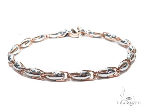 Bezel Diamond Gold Bracelet 41228 Gold
