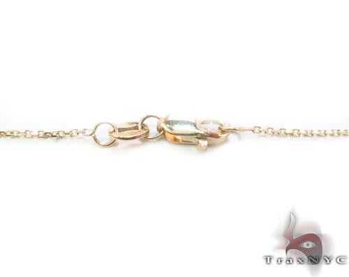 Bezel Diamond Necklace 34422 Diamond