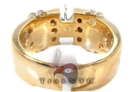 Bezel Diamond Ring 30459 Engagement
