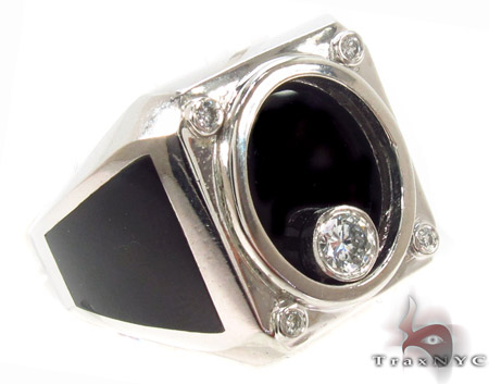 Bezel Diamond Ring 33430 Stone
