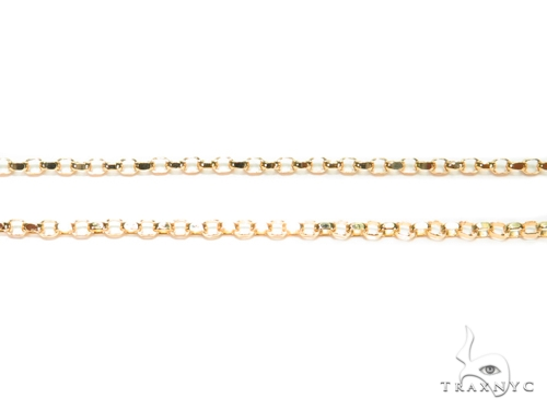 Cable Gold Chain 18 Inches 1mm 2.5 Grams 40913 Gold