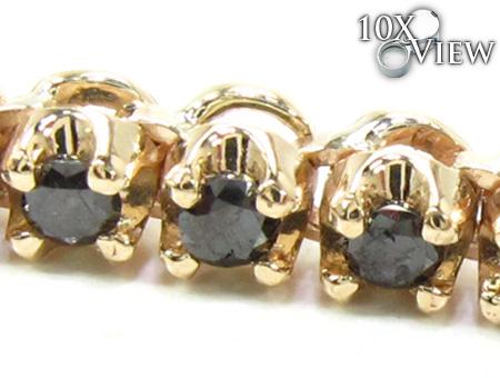 Black Diamond Chain 30 Inches 4mm 44.9 Grams Diamond