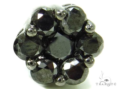 Black Diamond Earrings 36942 Stone