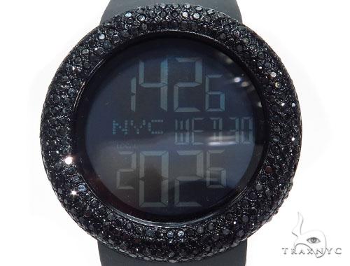 Black Diamond Gucci Watch 41579 Gucci