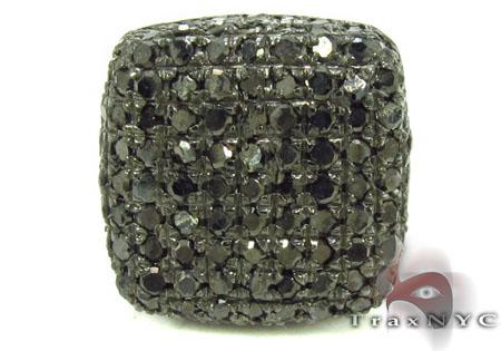 Black Diamond Pillow Single Earring Style