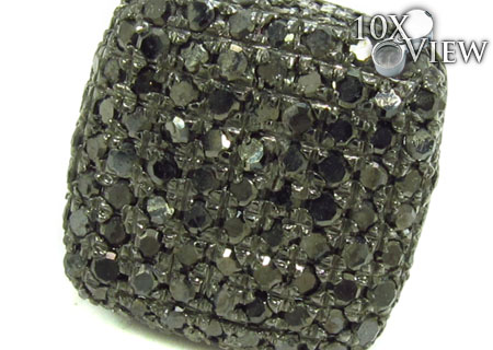 Black Diamond Pillow Single Earring Style