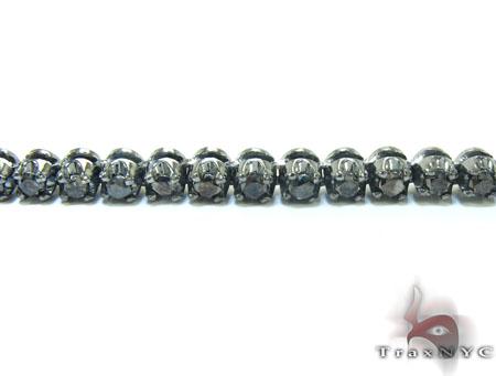 Black Diamond Polar Iced Chain 32 Inches 4mm 49.3 Grams Diamond
