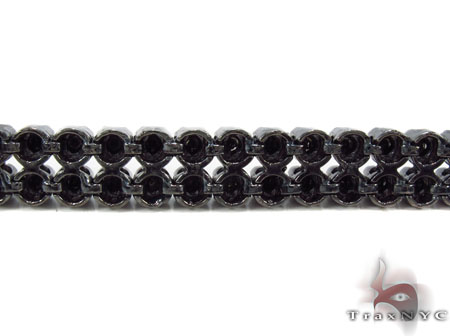 Black Diamond Prong Bracelet Diamond