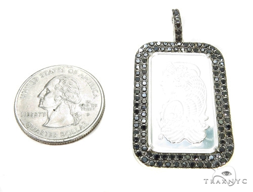 Black Diamond Silver Dog Tag 39361 Metal