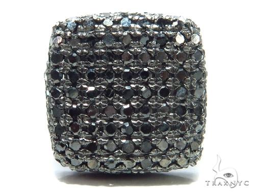 Black Diamond Single Earring 41660 Style