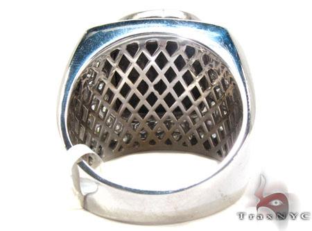 Black Diamond Solitaire Ring Stone