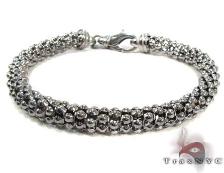 Black Silver Brecelet Sterling Silver Bracelets