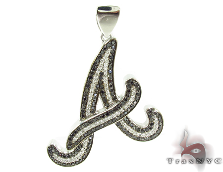 Black and white prong diamond a pendant 32217 mens style white gold 10k audiocablefo
