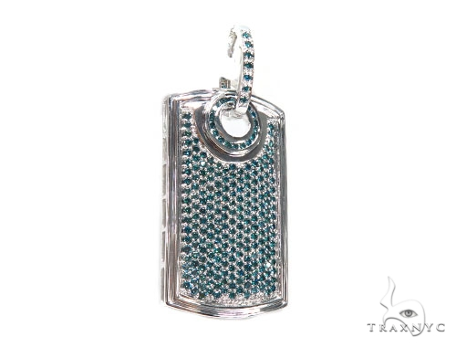 Blue Diamond Dog Tag 41688 Style