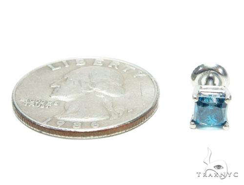 Blue Diamond Single Earring 41583 Style