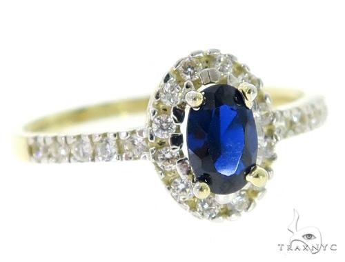 Blue Erebus Anniversary/Fashion Gold Ring 49790 Anniversary/Fashion