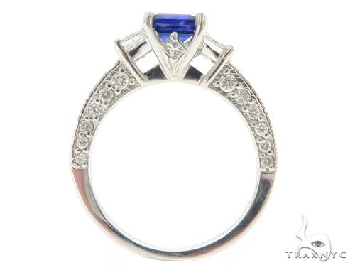 Blue Sapphire Diamond Anniversary/Fashion Ring 49442 Anniversary/Fashion