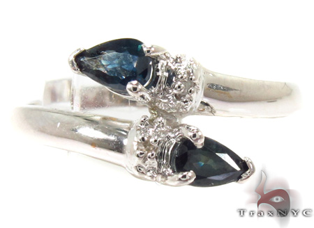 Snake Sapphire & Diamond Ring 29298 Anniversary/Fashion