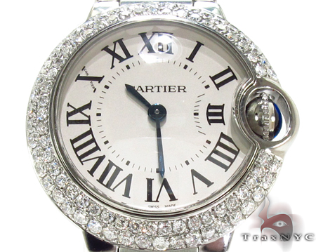 Brand New Cartier Ballon Bleu 36mm Size Diamond Watch Cartier Diamond Watches
