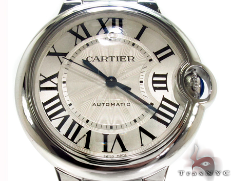 Brand New Cartier Ballon Bleu Mid-Size Watch Cartier