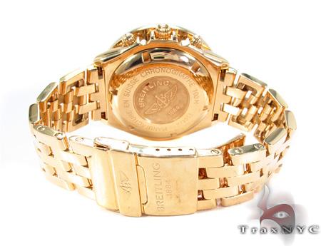 Breitling Diamond Bezel Yellow Gold Watch Breitling