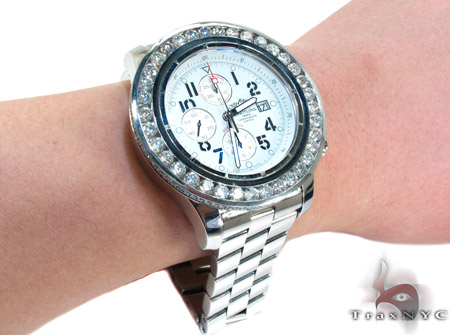 Breitling Super Avenger Diamond Mens Watch Breitling