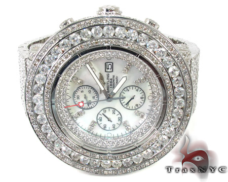 Breitling Super Avenger Full Diamond Watch Breitling