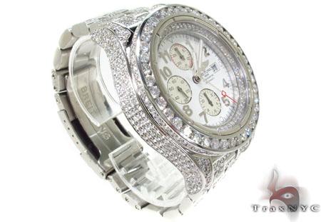 Breitling Super Avenger Fully Diamond Watch 2 Breitling
