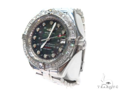 Breitling Superocean Diamond Watch 45315 Breitling